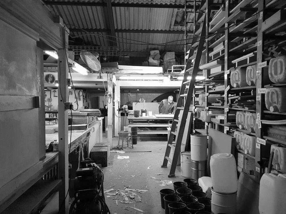 Moderne produksjonsutstyr i topp kvalitet